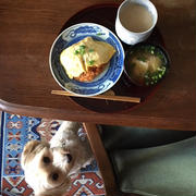 ケチャップライスの朝ごはん