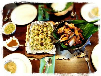 フィリピン料理のレッスン&おうちで女子会♪