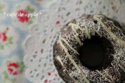 【レシピ】ボウル1つで♪ チョコレートケーキ。