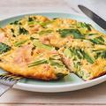 高タンパク質、低糖質レシピ!小松菜と大豆粉のキッシュ