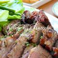 オーブンで簡単 牛ブロック肉のハーブ焼き