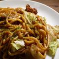 はじめての川越太麺やきそば。