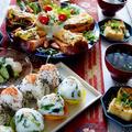 【続・朝ご飯5月3日の全貌編で おにぎり/揚げ出し豆腐/ピクルス/スープ他 青い鳥探しに・・・】♪