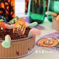 アメリカらしいお菓子ダートケーキ*ハロウィン仕様