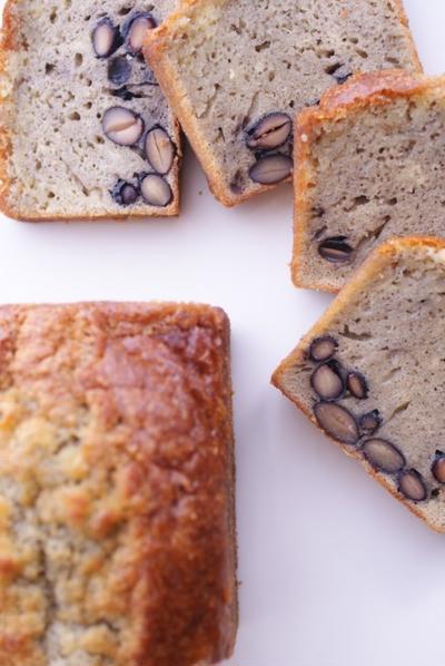 黒豆のパウンドケーキ