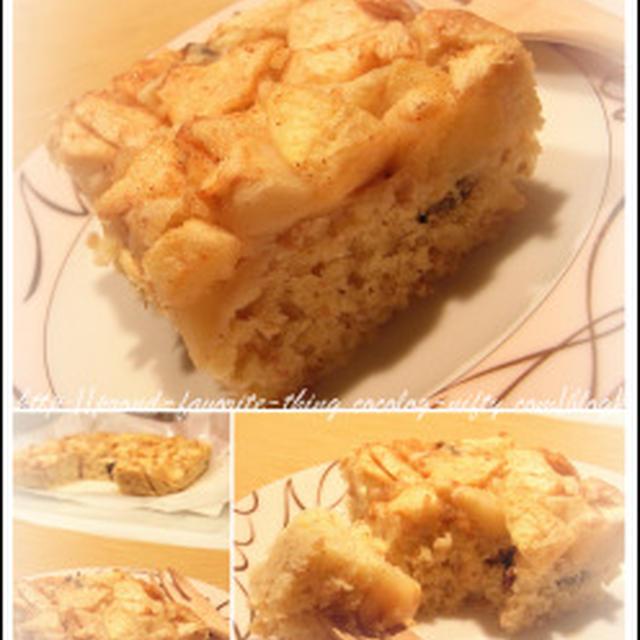 リンゴの簡単ケーキ Part2