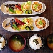 焼き鯖de和プレ☆炒り豆腐♪☆♪☆♪