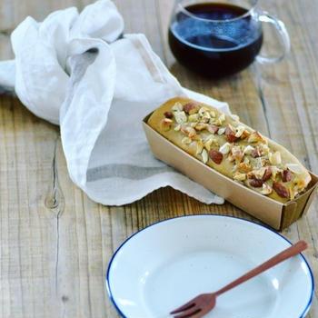 玄米粉のバナナパウンドケーキ