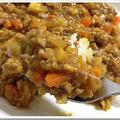 キーマカレー人気レシピ!簡単カレー粉で本格!トマトと豆