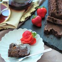 今年のバレンタインデーは♡サクサク食感クランブル生チョコケーキ!