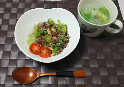 ☆レモン塩味レタスチャーハン☆