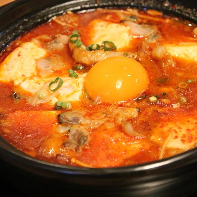お豆腐たくさん、ヘルシー韓国料理