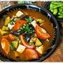 帰ってから15分でできる!ダイエットにもおすすめの茄子とトマトのピリ辛スープ(レシピ)
