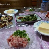 日曜日の晩御飯
