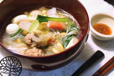 シンガポール大豆の風スープ