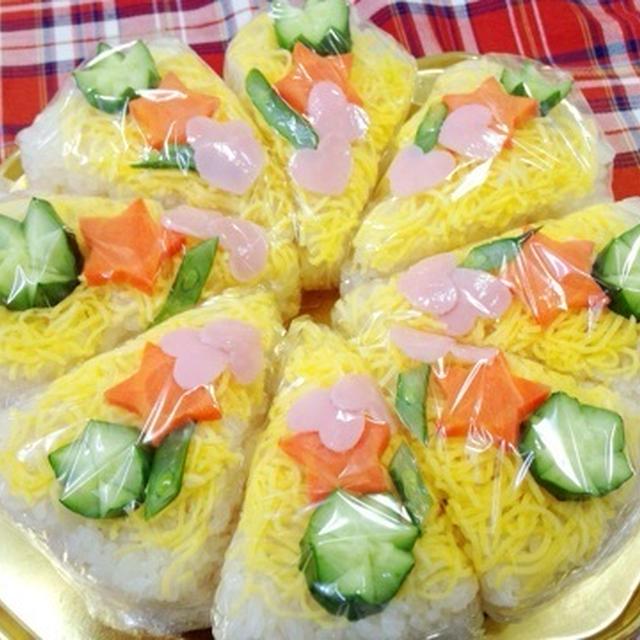 すし酢で簡単☆ケーキなおSUSHI