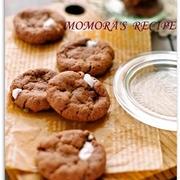 ちょっぴりビターな香ばしさ♪やみつき必至の「ココアクッキー」