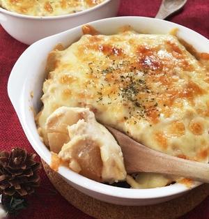 【レシピ】大根が決め手♪ツナと豆腐の和グラタン〜コンテスト受賞レシピだよ♪