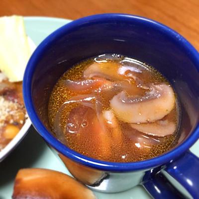 ☆ベーコンとマッシュルームのスープ