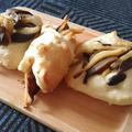 キノコとタケノコのお総菜パン