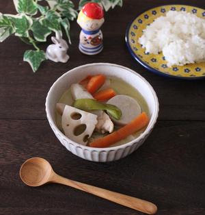 里芋レシピ第3弾!「根菜のグリーンカレー」