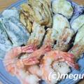 冷蔵庫の中の掃除の夕食 天ぷらとひき肉の甘辛煮