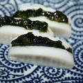 かまぼこの山葵海苔サンド