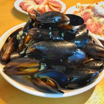 【ムール貝のワイン蒸し】業務スーパーで268円!簡単おうちバル