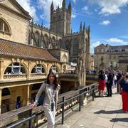 観光客気分でイギリス・ローマンバースで楽しむ