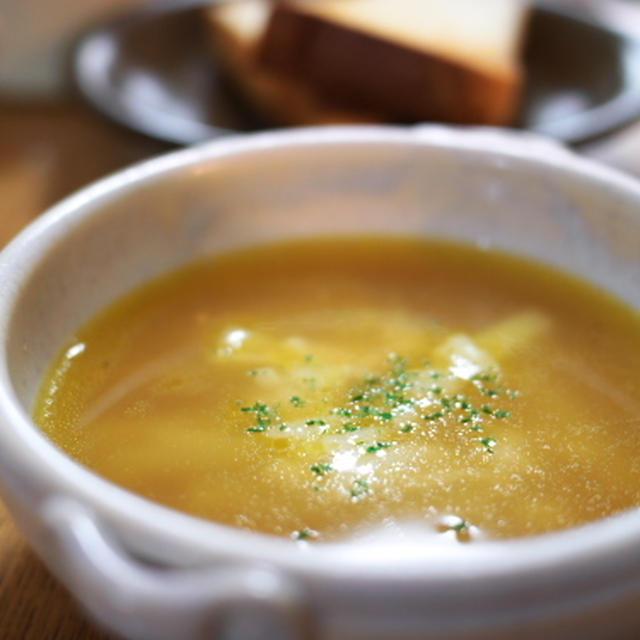 ジャガバタコンソメスープ