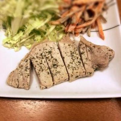ヨーグルト漬け豚ロース肉のソテー