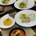 レッスン用ランチは鶏むね肉のスープカレーを用意しました〜今朝の富士山 by pentaさん
