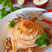 全部試してみたい♪「りんごのせトースト」が朝食やおやつにおすすめ!