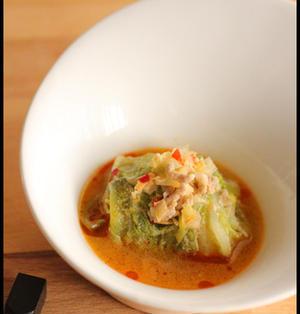 超おすすめ!坦々風味のロール白菜と担々麺
