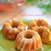 クリスマスに☆米粉で♪スパイスクリスマスプディングケーキ☆