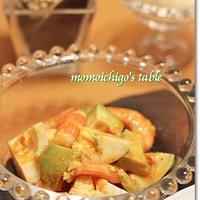 トマトディナー*たらと根菜のトマトオリーブ煮&海老とアボカドのトマトドレッシングサラダ♪