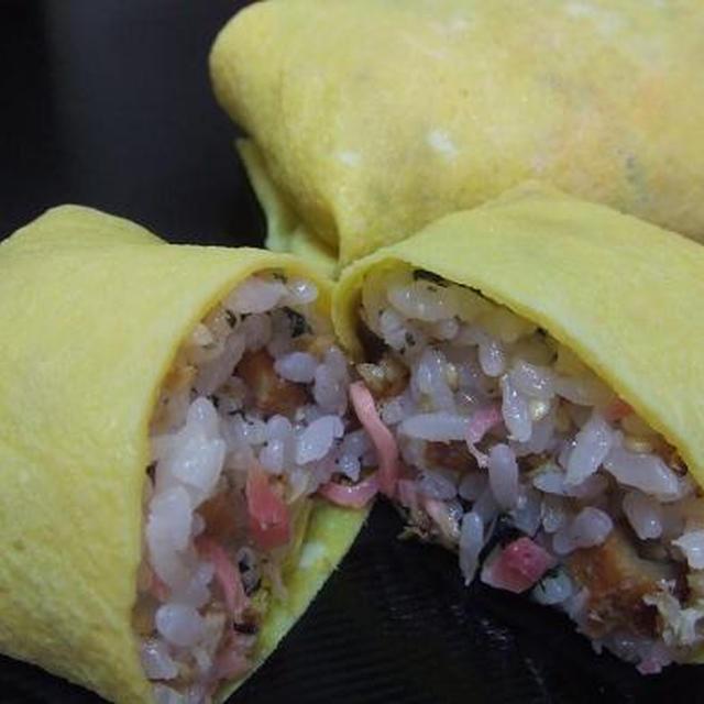 スーパー簡単『ふくさ寿司』♪100%成功「薄焼き卵」レシピ付き