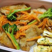 12月1日  とろみ生姜焼きのっけ弁当