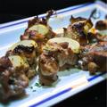 ラム肉のブロシェット、ローズマリー風味