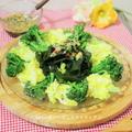 ワカメを油とお酢でクッキング!? 旬を食べよう♪中華ドレッシングdeわかめサラダ by kitten遊びさん