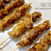 お家居酒屋風♡豚小間切れ肉で串焼きトン-節約*簡単