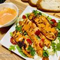 鶏むね肉のお手軽ケバブ★魅惑のハリッサを使って、