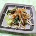 チンゲン菜ともやしの蒸し煮 調理時間5~15分