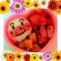 *いろいろ食べたいから…パン盛りあさごぱん(♡ˊ艸ˋ♡)紅茶のメロンパンとまっ茶あん...