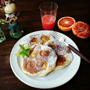 朝食におすすめ!もっちり甘い「バナナパンケーキ」を作ろう
