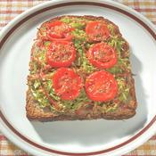 春キャベツとトマトのヘルシー&ボリューミィトースト