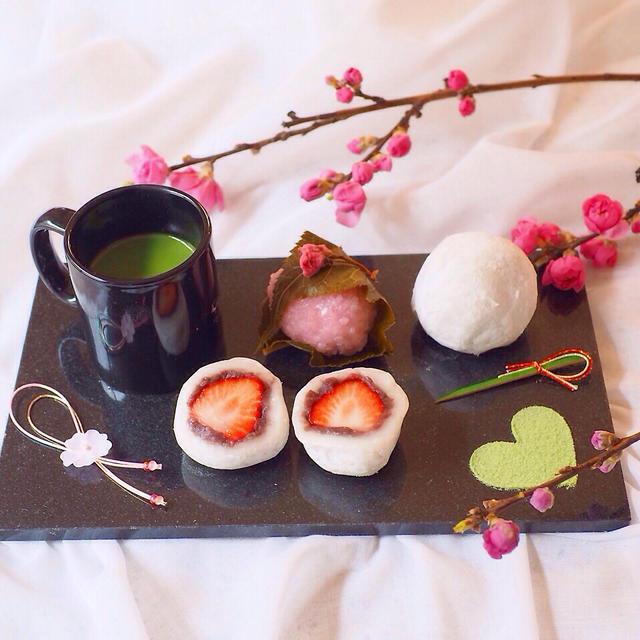 超簡単☆炊飯器でほったらかしでできちゃう餡子で、苺大福
