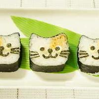 飾り巻き寿司こねこレシピのせました♪