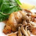 鶏もも肉の黒酢きのこソース by mariaさん