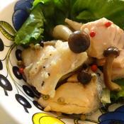 鮭のレモンペパー炒め